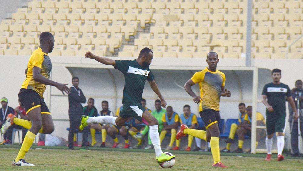 استمرار منافسات الدور 16 لبطولة كأس القائد العام لقوة دفاع البحرين لكرة القدم