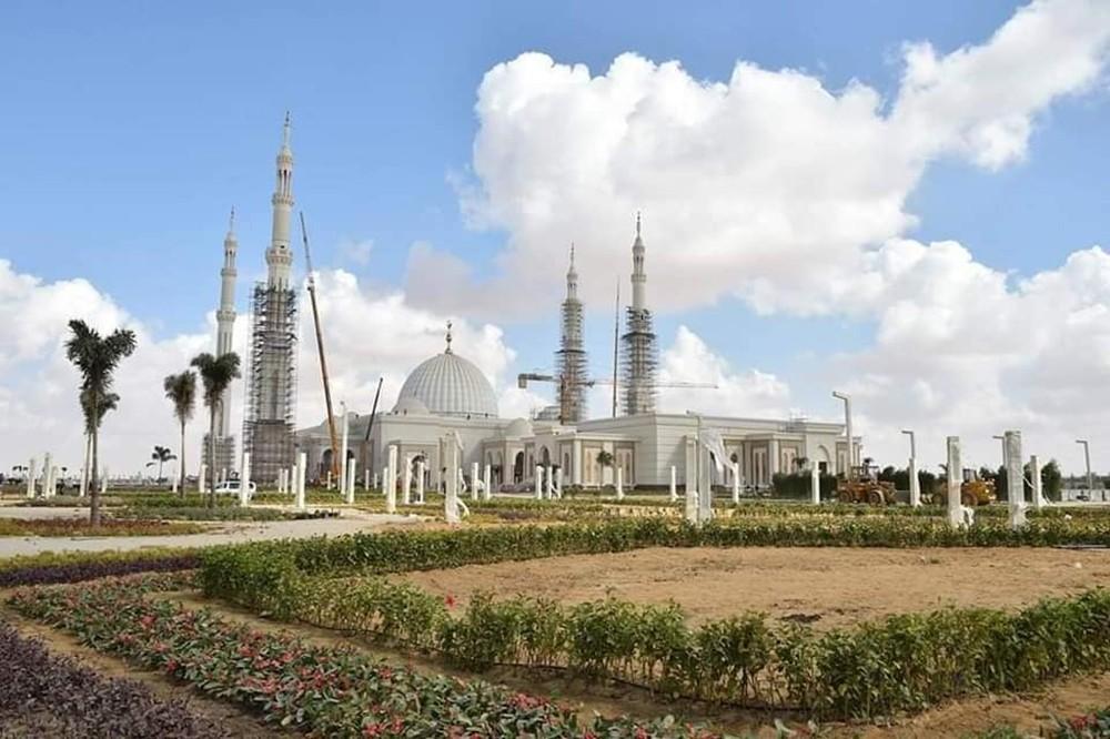 أكبر مسجد في تاريخ مصر يفتتح قريباً