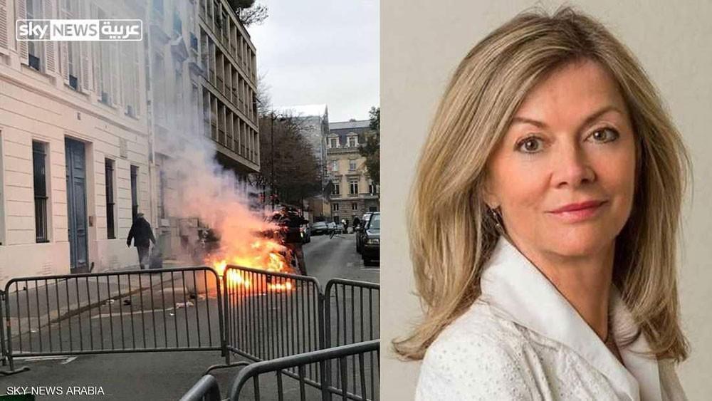 سفيرة السويد : أين الشرطة؟ والسترات الصفراء تتهكم