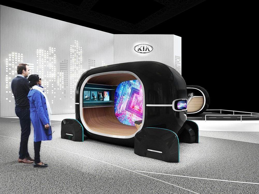 الذكاء الإصطناعي لشركة Kia قادر على ضبط مقصورة السيارة وفقا لمشاعرك