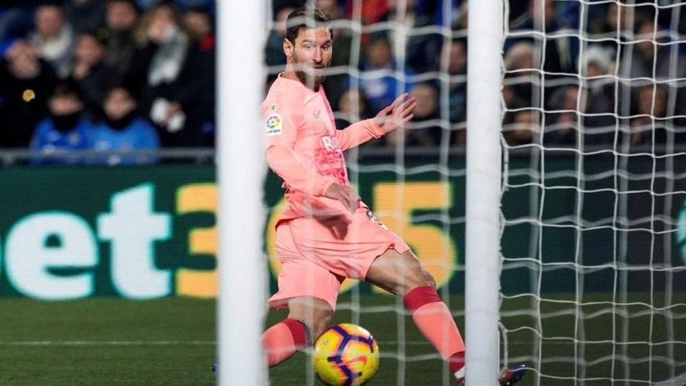 برشلونة يتجاوز خيتافي بصعوبة ويبتعد عن الريال بـ10 نقاط