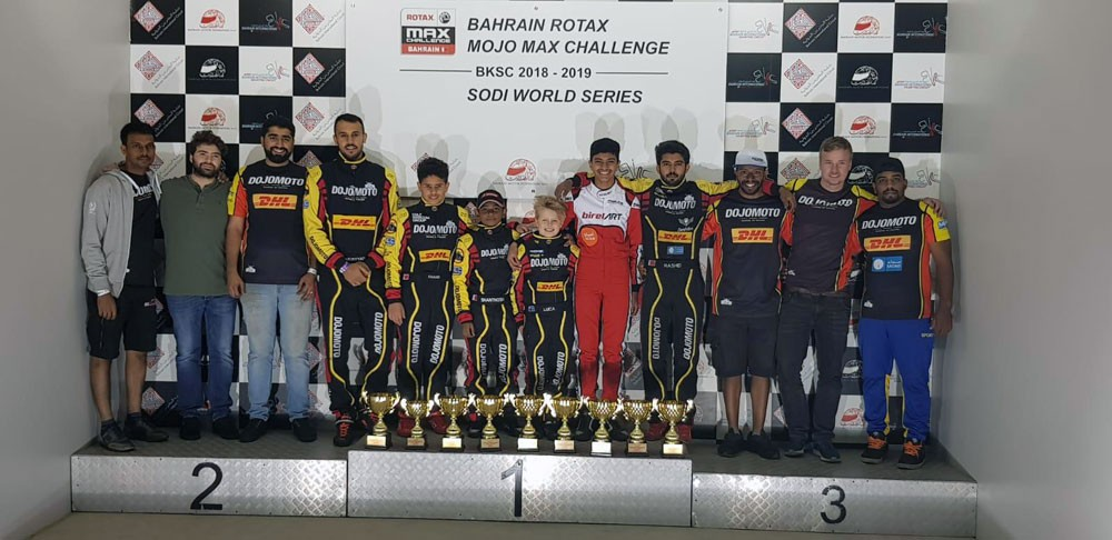 Dojomoto racing يحقق المركز الأول في 4 فئات