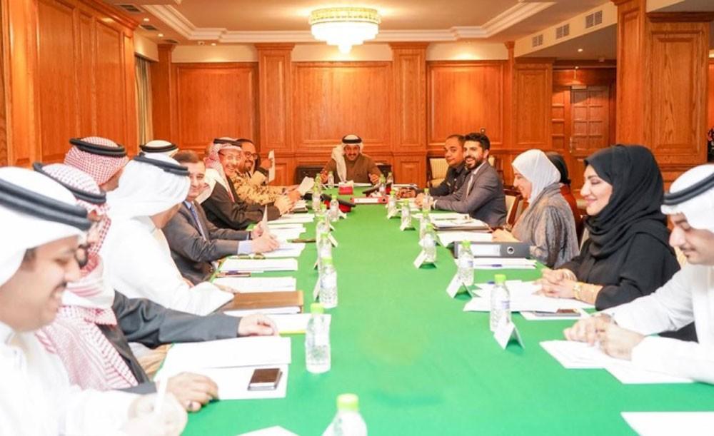 لجنة التزام البحرين بقرارات مجلس الأمن الدولي تعقد اجتماعها