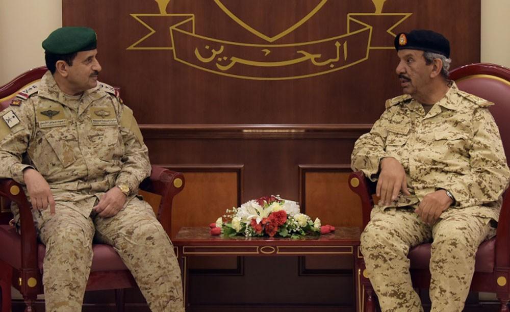 القائد العام يستقبل قائد القيادة العسكرية لمجلس التعاون
