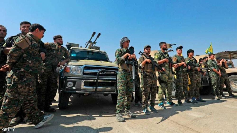 """سوريا.. وحدات حماية الشعب الكردية تعتقل """"دواعش"""" أجانب"""