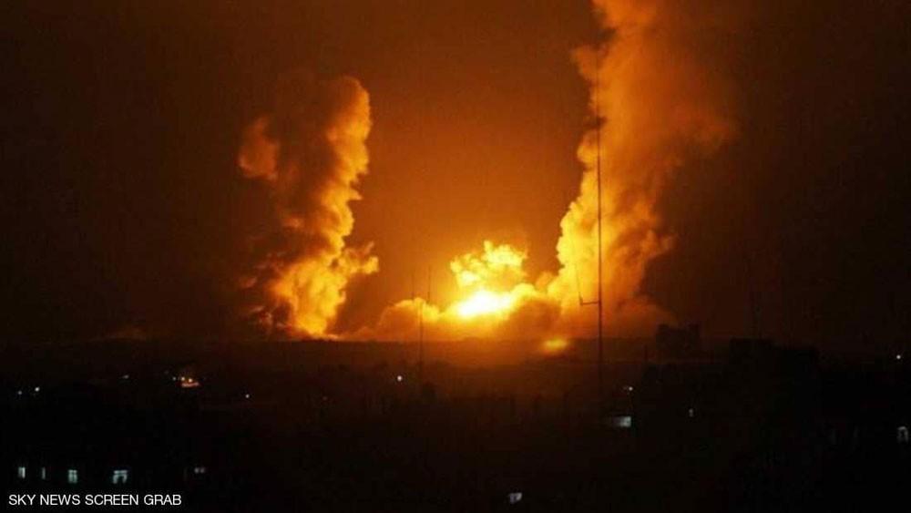 """غارات """"إسرائيلية"""" على العاصمة السورية دمشق"""