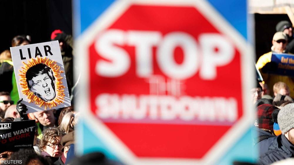 """""""الإغلاق الحكومي"""" يصبح الأطول في تاريخ الولايات المتحدة"""
