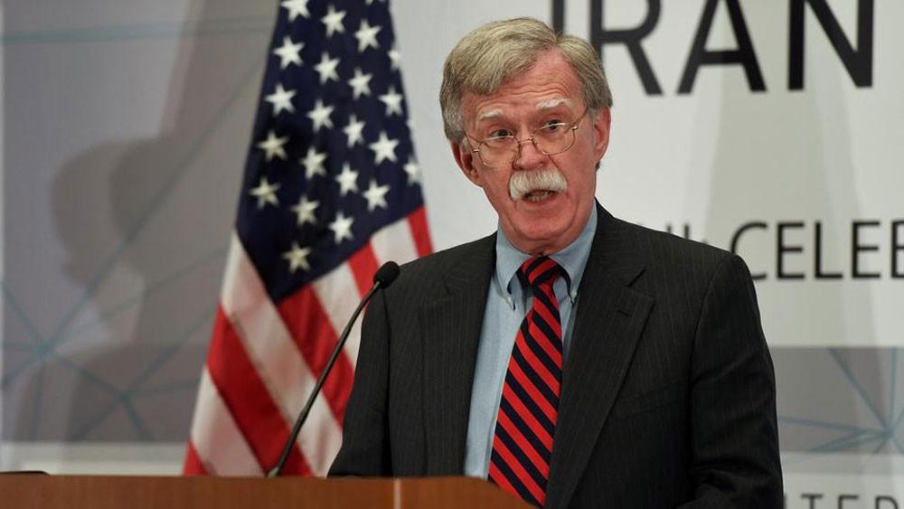 صحيفة أميركية: بولتون طلب من البنتاغون خطة لضرب إيران