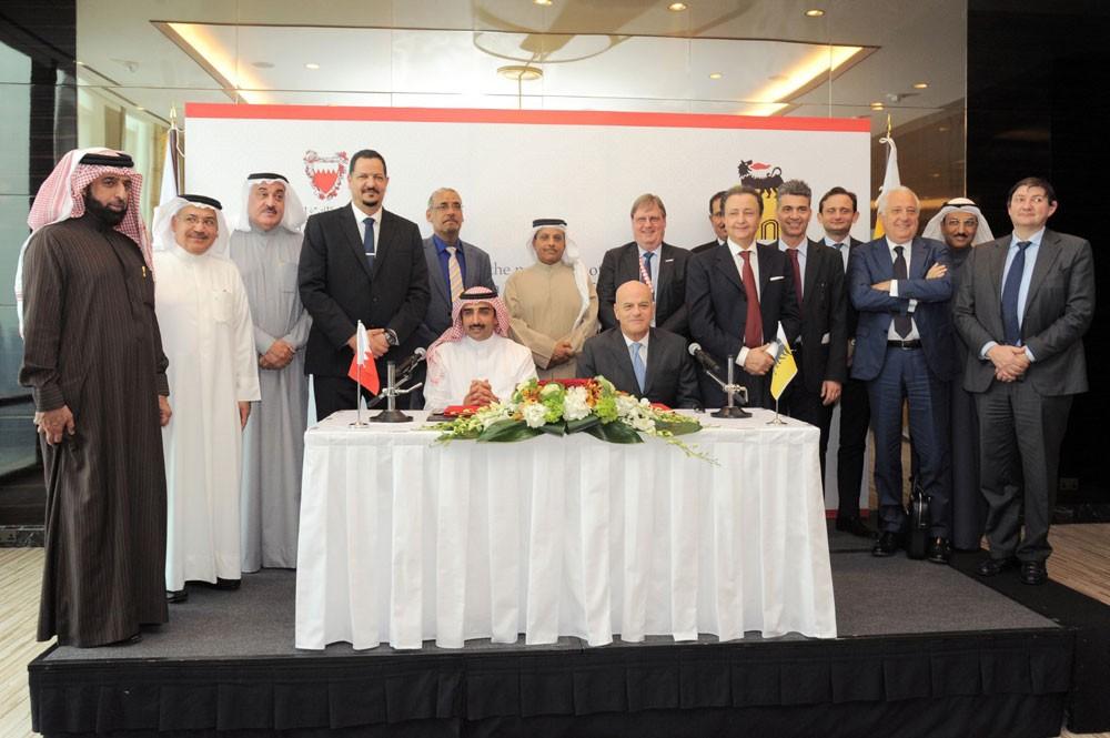 """""""النفط والغاز"""": مذكرة تفاهم مع """"إيني"""" لاستكشافات شمال البحرين"""