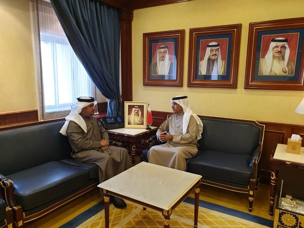 وزير الإسكان يستقبل النائب عمار البناي