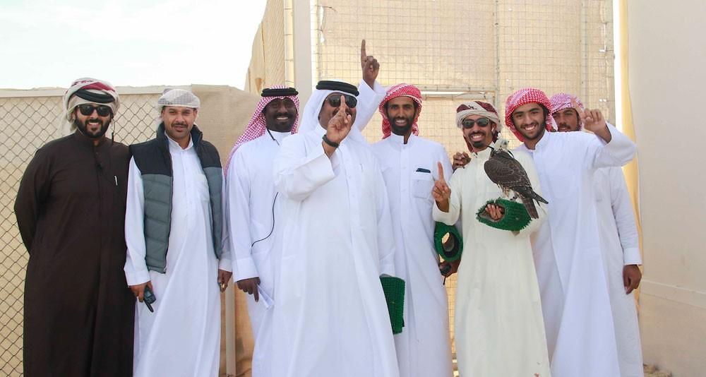 40 فائزًا في كأس فيصل بن خالد للصقور