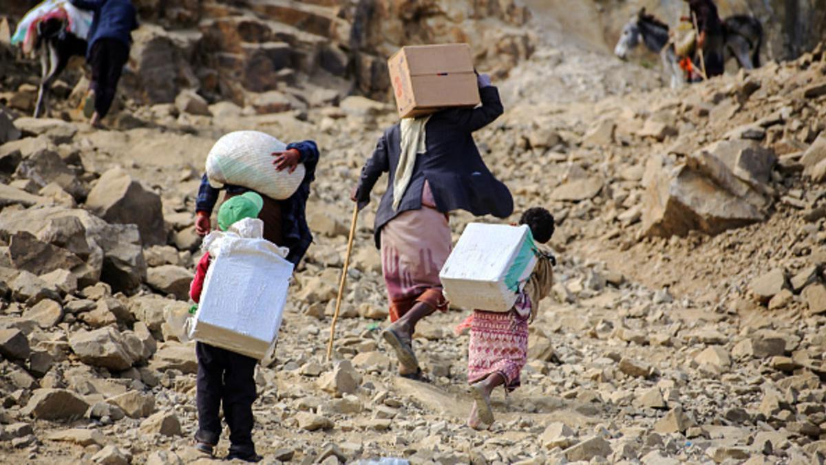 منظمات المجتمع المدني تحذر من الأزمة الإنسانية في اليمن