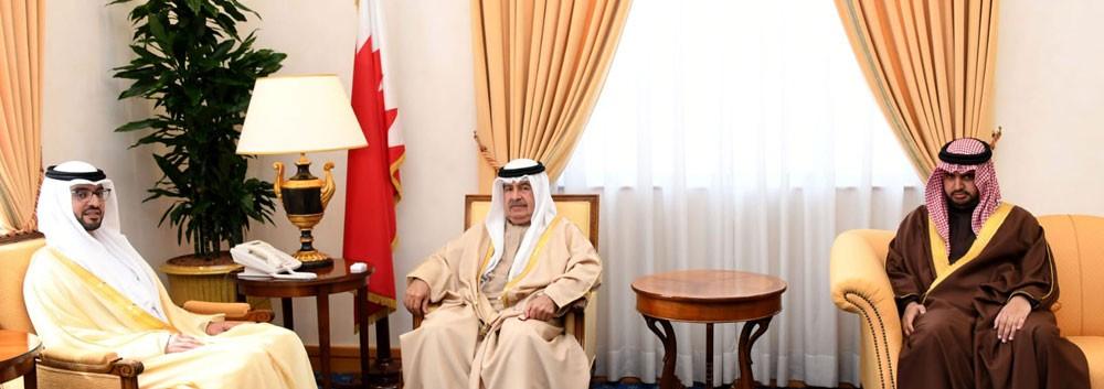 سمو نائب رئيس الوزراء يستقبل السفير الاماراتي