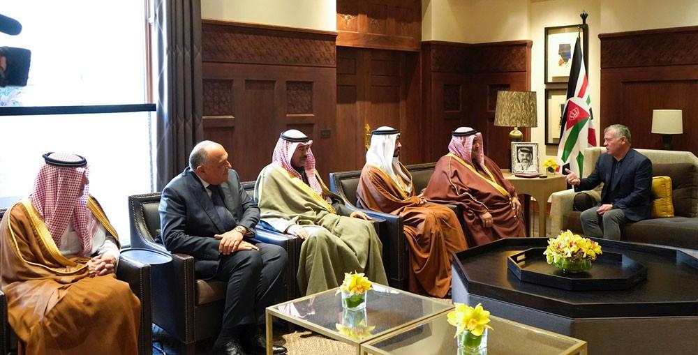 وزير الخارجية : تكثيف التنسيق بين الدول العربية المسؤولة