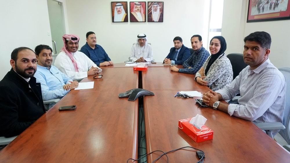 اللجنة الإعلامية ليوم البحرين الرياضي تعقد اجتماعها الأول