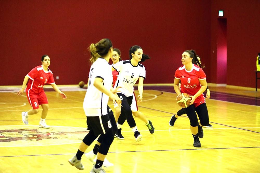 الجولة الرابعة من دوري الجامعات لكرة السلة للطالبات