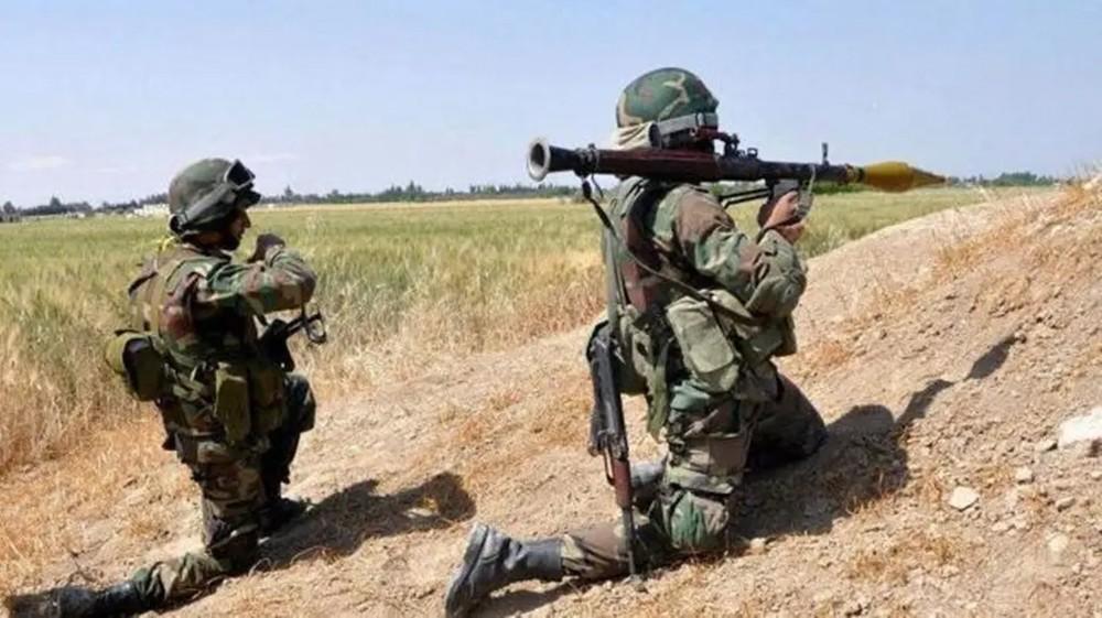 الجيش اللبناني يطالب قوة سورية بالانسحاب من بلدة حدودية