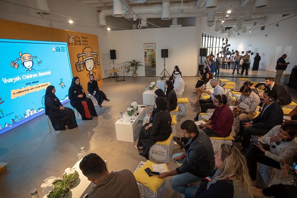 """""""بينالي الشارقة للأطفال"""" يعرض 48 اختراعاً وعملاً فنياً من 6 دول عربيّة وأجنبيّة"""