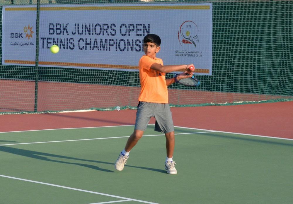 8 مباريات في بطولة BBK المفتوحة للناشئين التنس