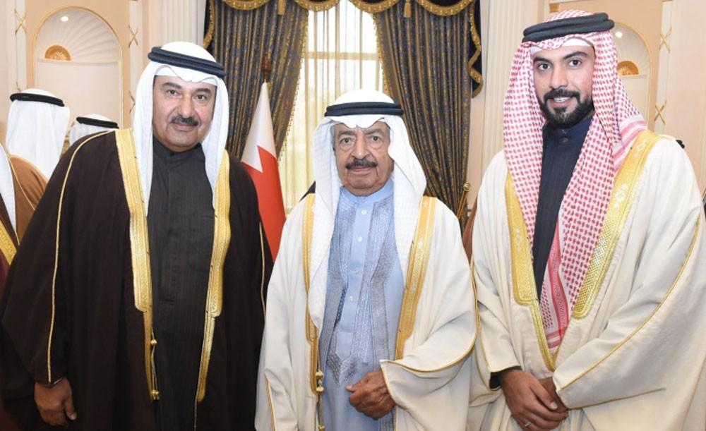 سمو رئيس الوزراء يستقبل الشيخ خليفة بن عبدالله آل خليفة