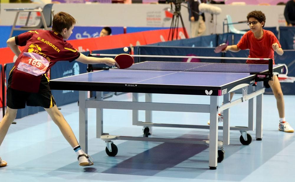 ختام بطولة البحرين الدولية العاشرة لكرة الطاولة