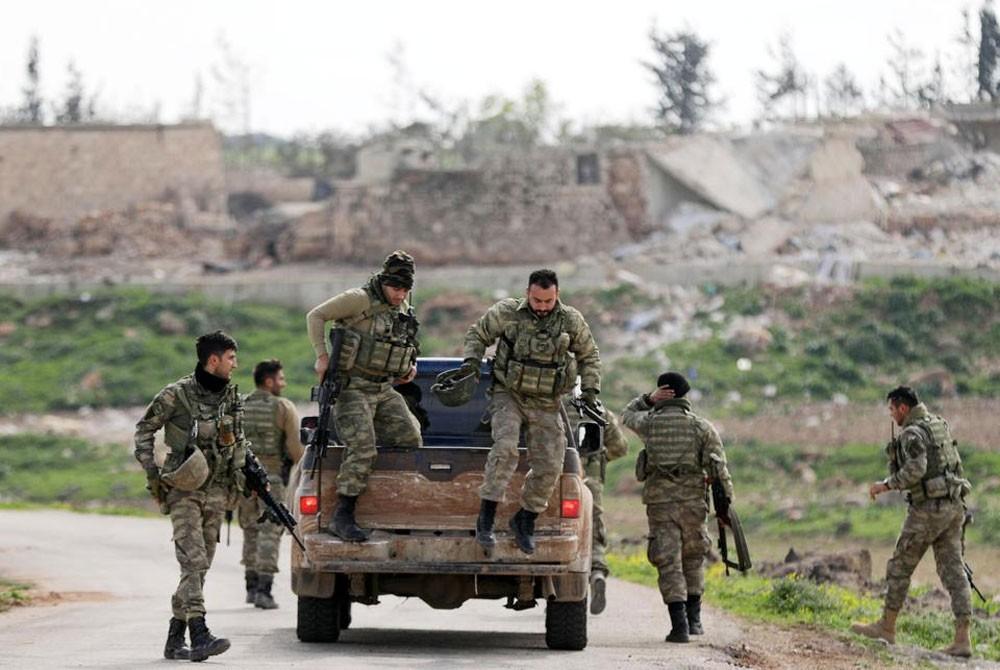 مقتل جندي بعملية ضد الجيش التركي في عفرين