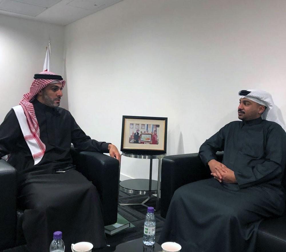 محمد بن دعيج يعقد اول اجتماع بعد اشهار اللجنة البارالمبية