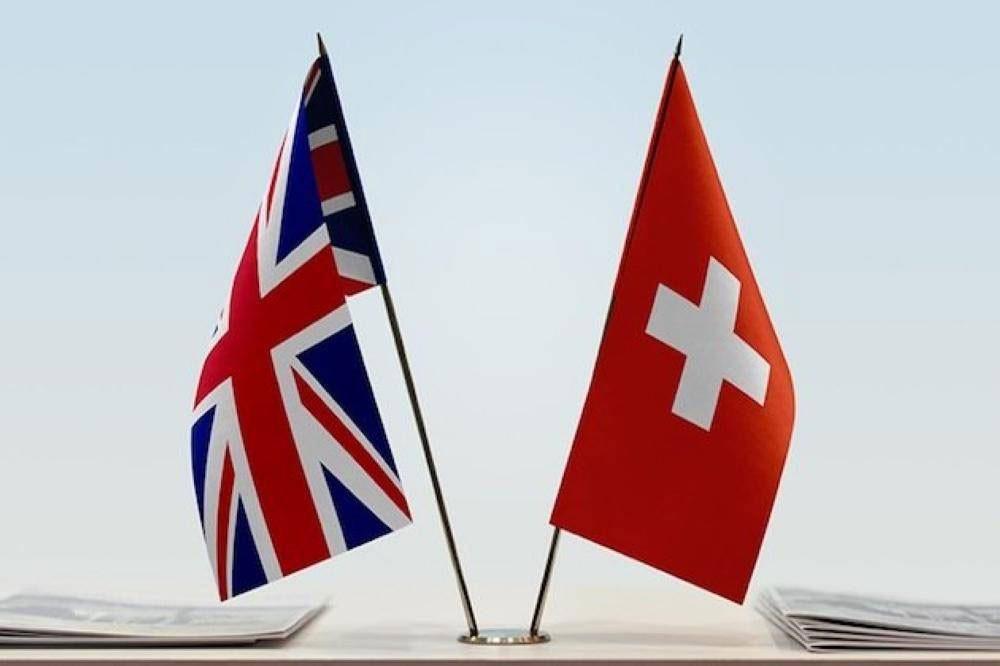 بريطانيا وسويسرا ستوقعان اتفاقاً تجارياً