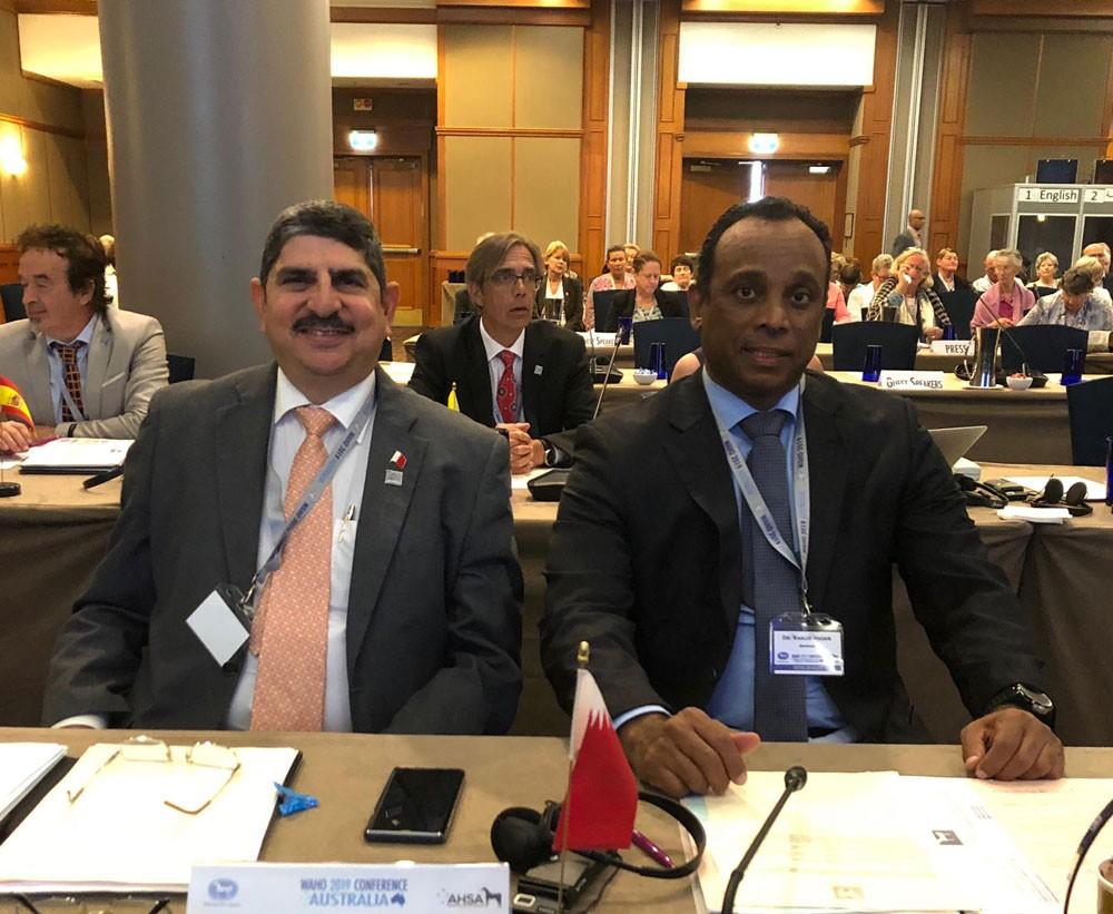 الدكتور خالد احمد يشارك في المؤتمر العام لمنظمة الجواد العربي