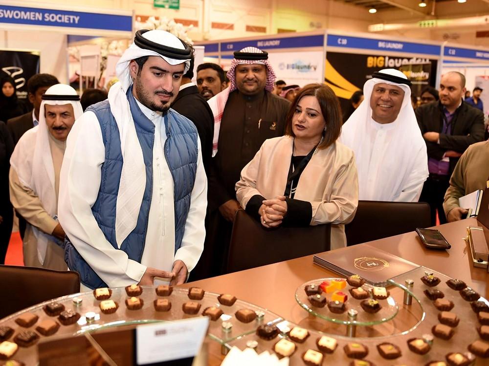 رئيس هيئة البحرين للسياحة والمعارض يفتتح المعرض الدولي للعلامات التجارية وحقوق الامتياز