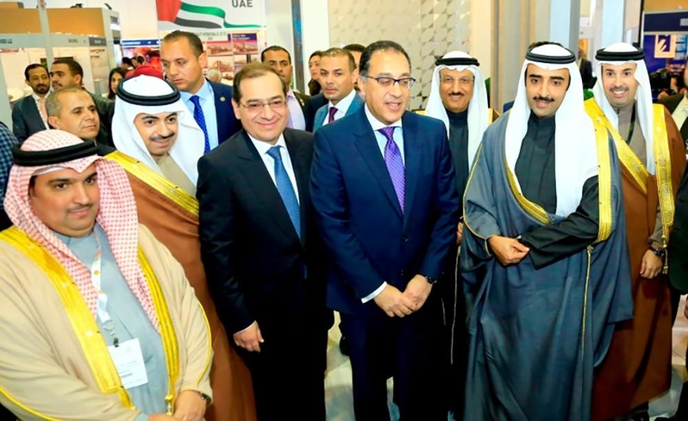 """وزير النفط يشارك في فعاليات مؤتمر ومعرض مصر الدولي للبترول """"ايجبتس2019"""""""