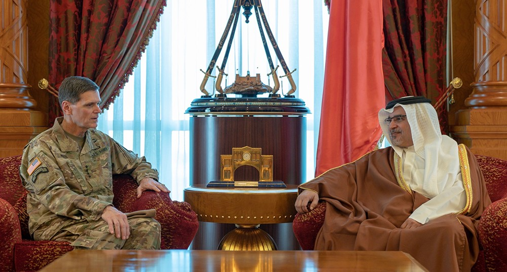 سمو ولي العهد: علاقات البحرين وأمريكا تستند على أسس راسخة من التاريخ الممتد والتعاون الاستراتيجي