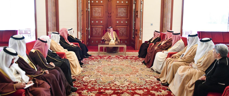 جلالة الملك يثني على اهتمام السعودية بحقوق الإنسان