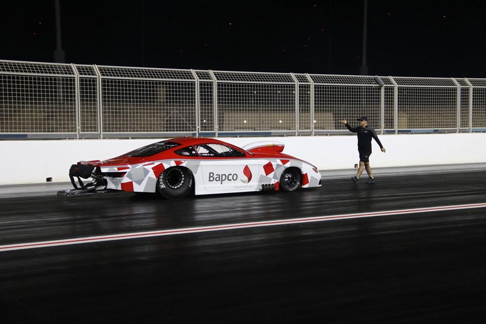 (بابكو) لرياضة السيارات ينطلق على مضمار السرعة وعيناه على اللقب