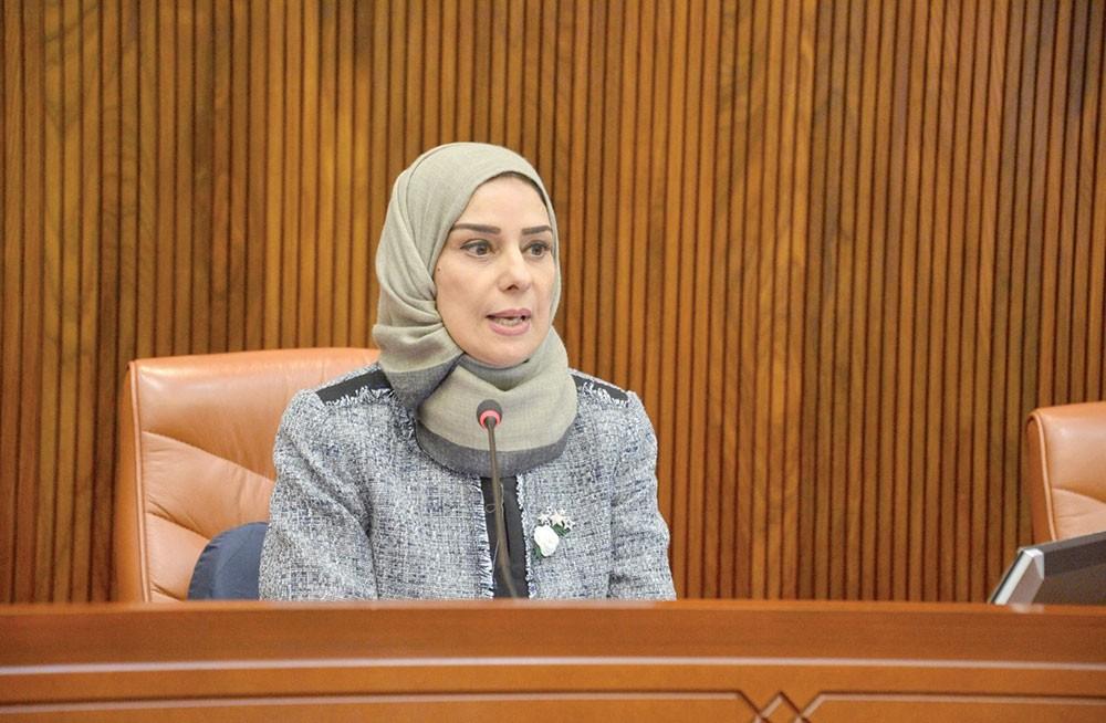 رئيس مجلس النواب تؤكد التضامن مع العراق ضد الإرهاب