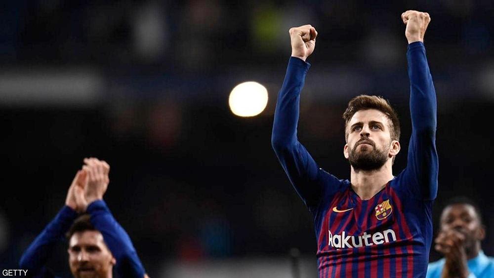 """بيكيه يستفز جمهور ريال مدريد ويعترف """"بالحركة"""""""