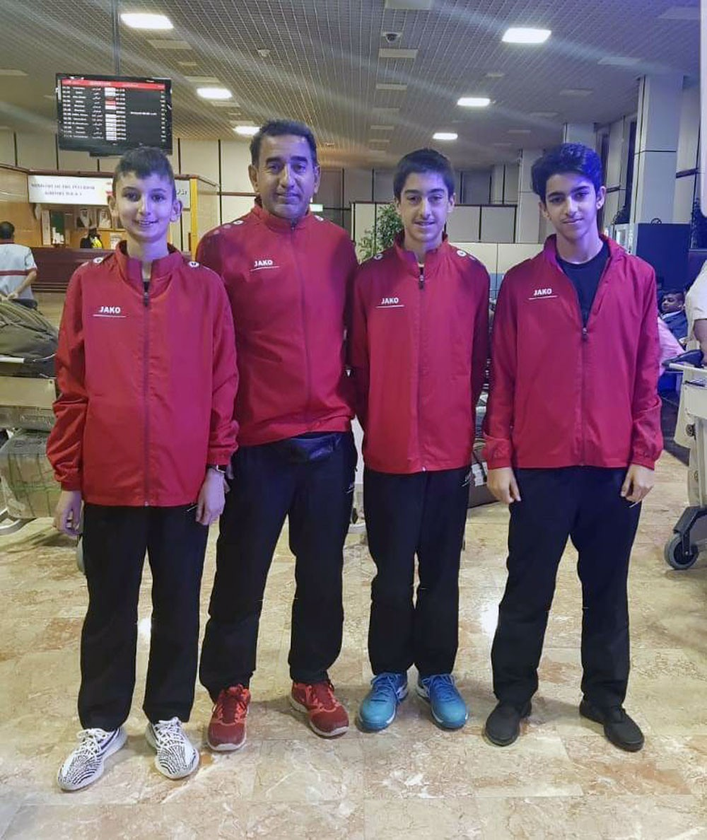 منتخب التنس الوطني يشارك في تصفيات كأس ديفيس بسيريلانكا