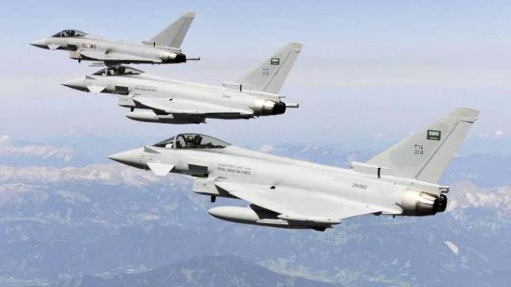 التحالف يستهدف ميليشيات الحوثي في سنحان