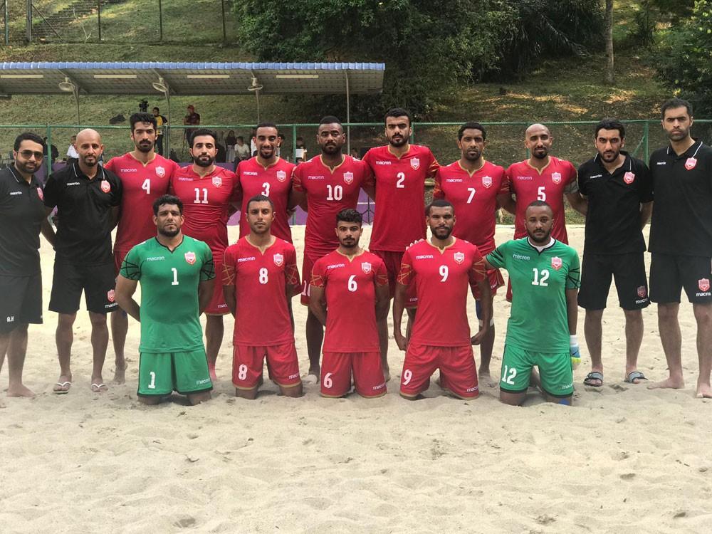 منتخب الشواطئ يواجه عمان في ربع نهائي كأس آسيا