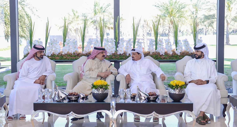 العاهل يشيد بالمستوى المتطور للتعاون المشترك مع الإمارات
