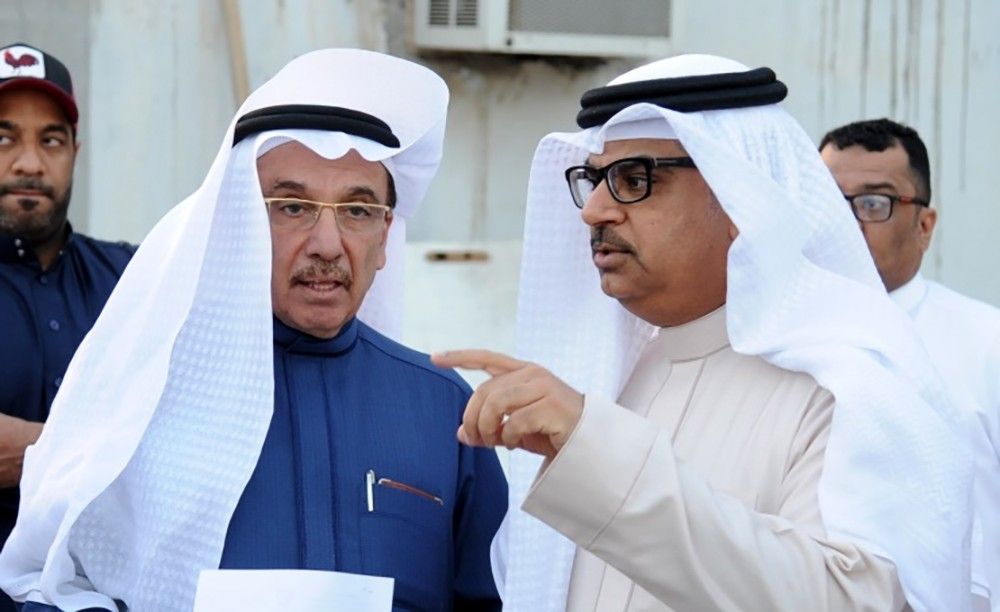 الاشغال تبحث مع القاضي وشاهين مشاريع الطرق في ثانية الجنوبية