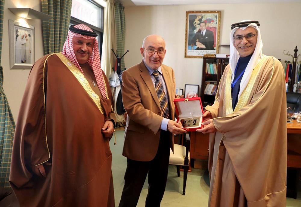 """الأمينان العامان لـ""""الشورى"""" و""""النواب"""" يؤكدان أهمية تعزيز التعاون البرلماني على مستوى الأمانات العامة"""