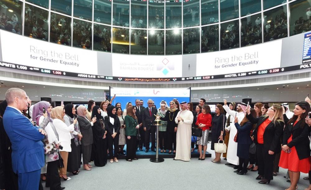 بورصة البحرين تنظم فعالية قرع الجرس للمساواة بين الجنسين