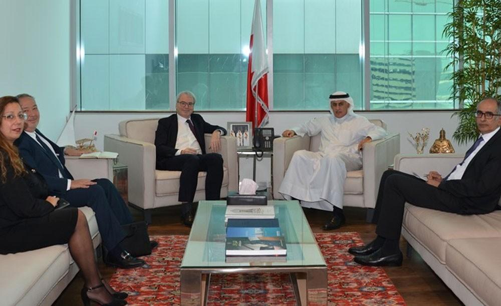 الزياني يجتمع برئيس مجلس إدارة Five group