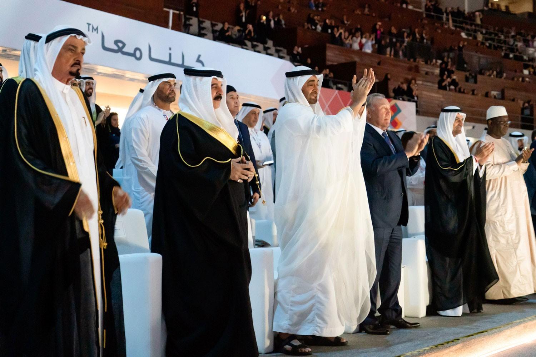 جلالة الملك يشهد حفل افتتاح الألعاب الأولمبياد الخاص