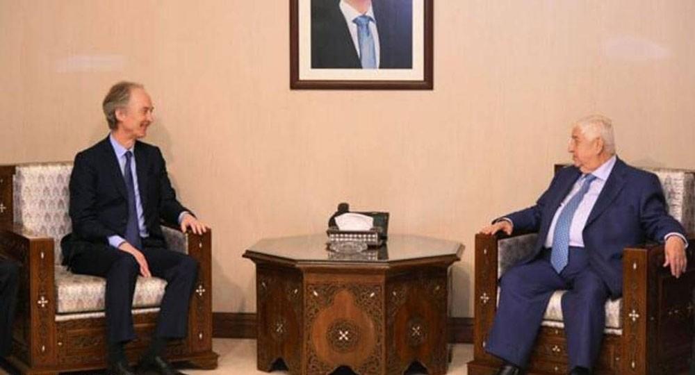 بيدرسون في دمشق.. مهمة جديدة لحل الأزمة السورية