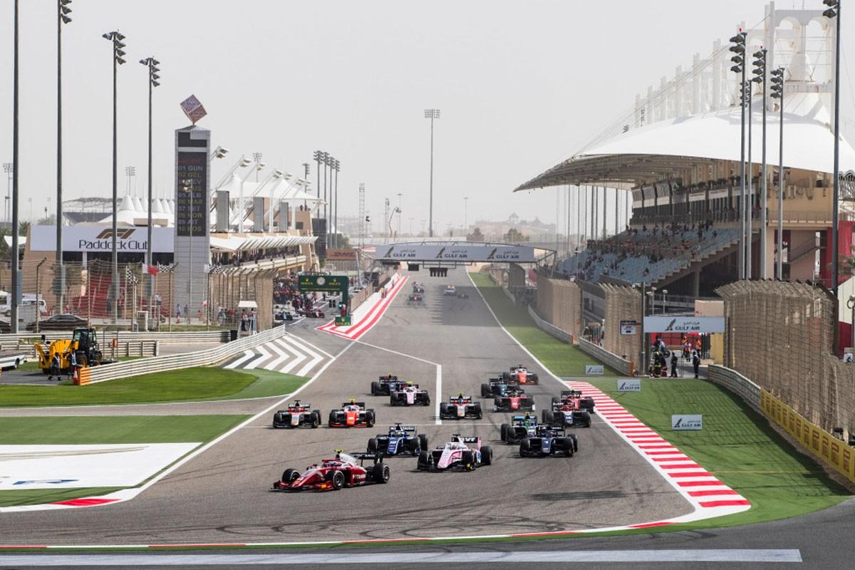 افتتاح بطولة الفورمولا 2