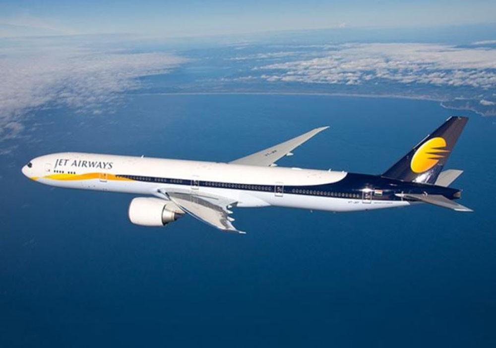 """Jet Airways"" الهندية تشغل ثلث أسطولها الأصلي"