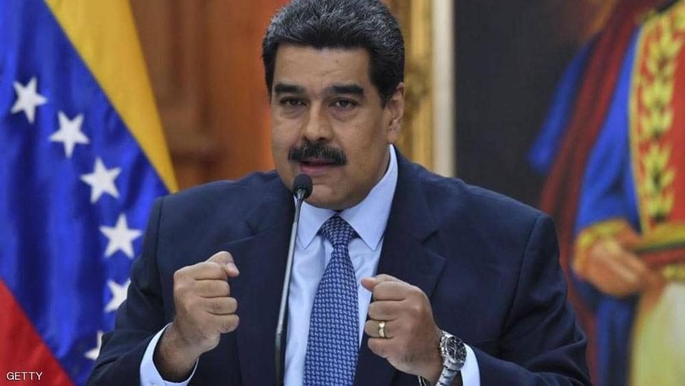 """واشنطن تضيق الخناق """"المالي"""" على رئيس فنزويلا"""