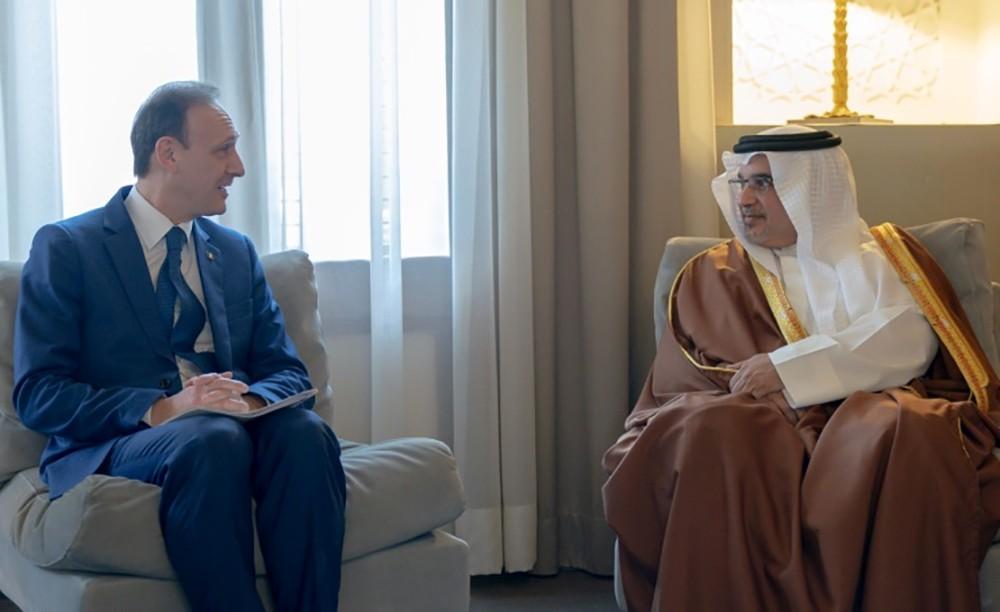 سمو ولي العهد: العلاقات البحرينية الإيطالية في تطور مستمر بمختلف المستويات